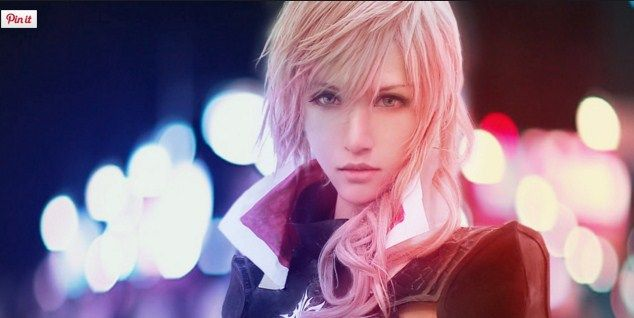 Lightning FF Cosplay Costume