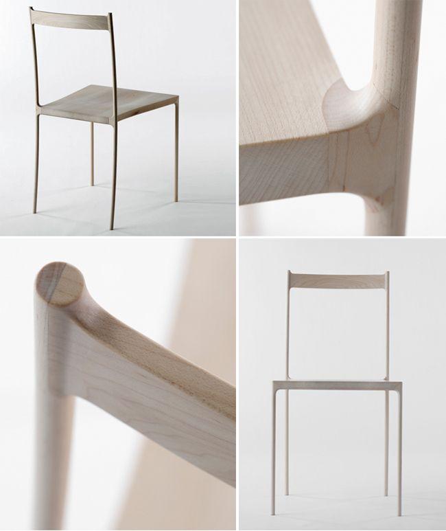 Cord Chair designed by Nendo