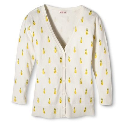 PINEAPPLE CARDIGAN! Merona® Women's Ultimate 3/4 Sleeve V ...