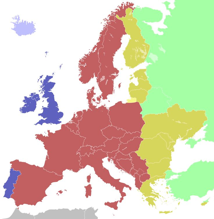 TIL that France used to be on the same time zone as Britain but during the German occupation the time zone was changed to Central European Time and remains unchanged.