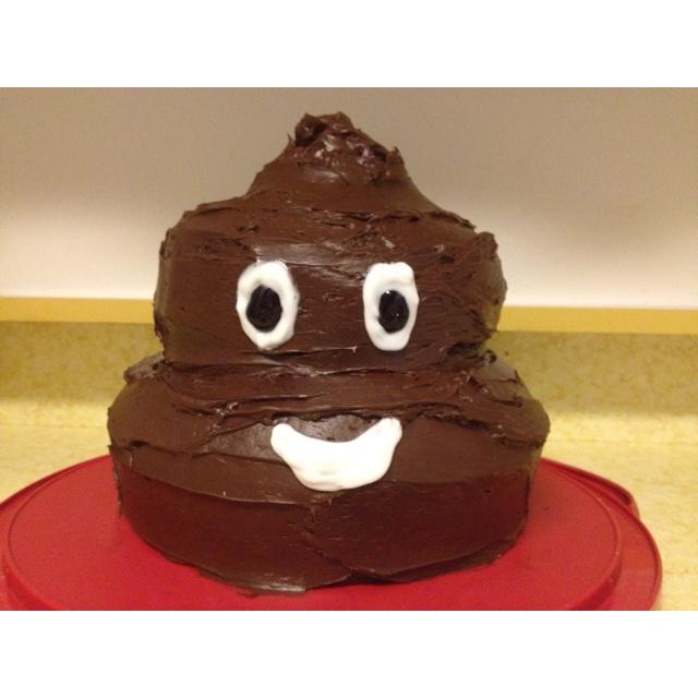 Cat Poop Birthday Cake