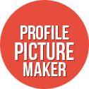 Photo Editor » Profile Picture Creator | profile pic frame.  Free! and totally awesome.  I was able to create a multi layered profile picture for all of my social media sites
