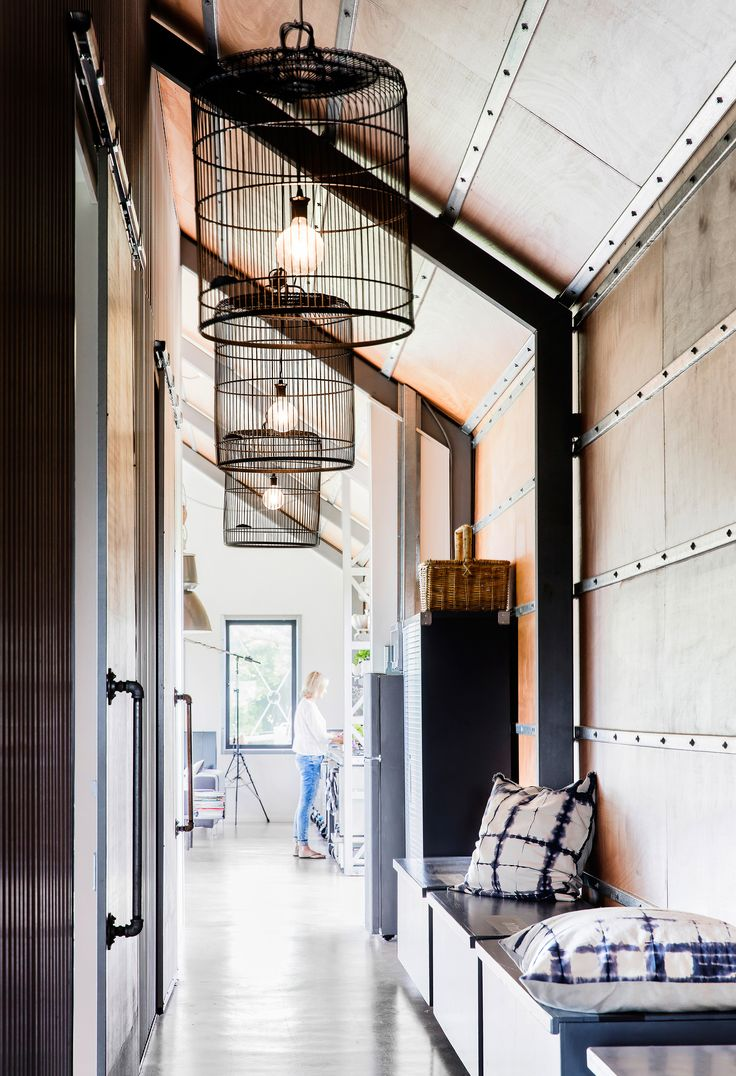 Shed converted into a holiday house on the NSW South Coast. Photography: Maree Homer | Styling: Louise Bickle | Story: Australian House & Garden