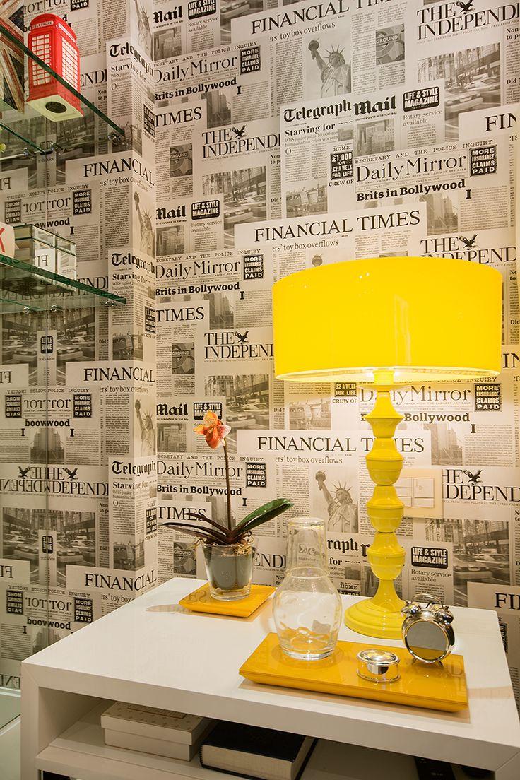 papel parede jornal