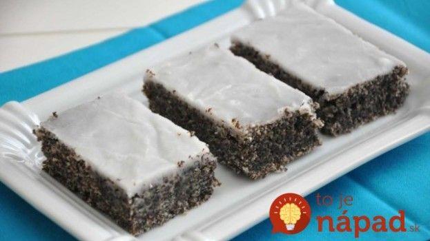 Jogurtovo-makový koláč