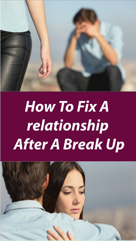 how to rebuild a relationship after a break up