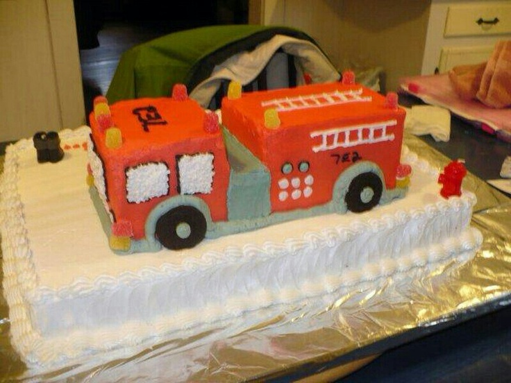 Photos Of Fire Truck Cakes