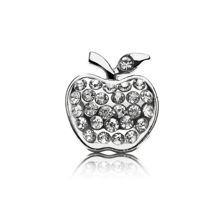Funky Apple Dog Charm