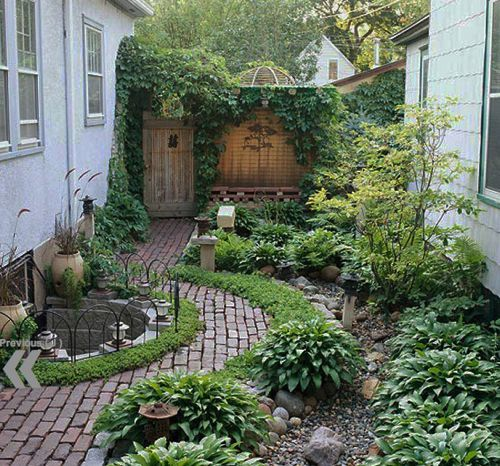 beautiful ...small garden layout @ Af 1/1/13