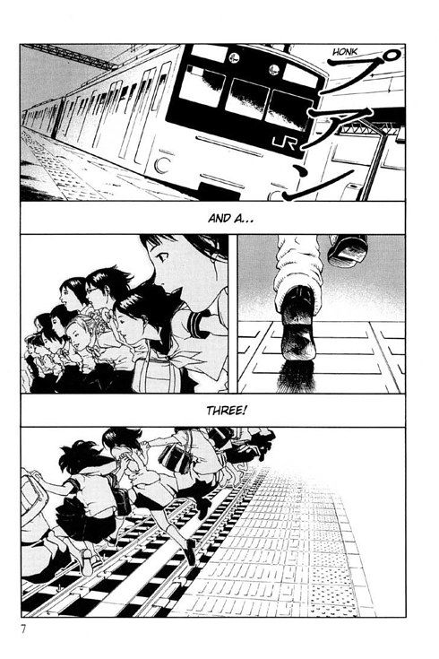 Jisatsu Circle by Furuya Usamaru | 13 Horror Comics That Will @#$%&! You Up