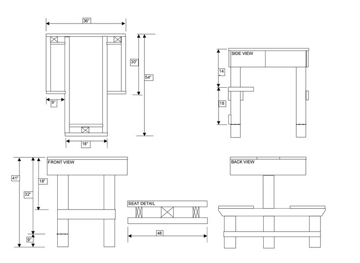 Free Shooting Bench Plans | help me design my shooting bench - The FAL Files