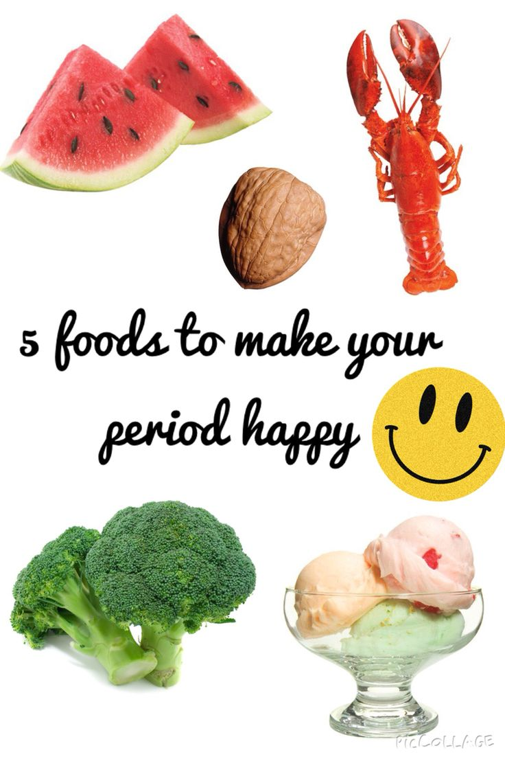 Foods You Should Eat While On Your Period