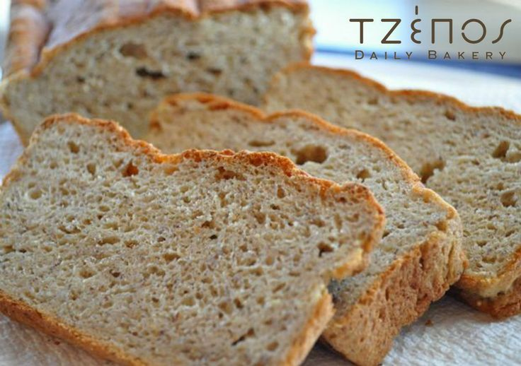Greek bread, using the flour of the ancient ZEA grain