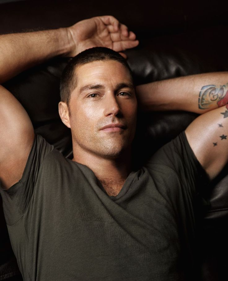 Couldn't let this one go by without pinning it.  Oh my, Matthew Fox. So that's why your nickname is Foxy......