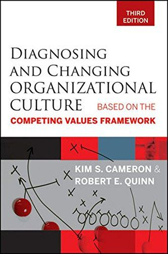 Diagnosing and Changing Organizational Culture: Based on ...