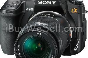 Sony A200 DSLR  PRICE NEGOTIABLE    Item included:  - Sony A200 DSLR Body  - 18-70mm F3.5-5.6 Len  - 75-300mm F4.5-5.6 Len  - CyberTik DF MZ45 Flash  - Hoya 55mm Cir-Polarizing Filter  - Cokin 55mm UV Filter  - SanDisk 8GB CF card  - Original battery and battery charger  - Comfortable red soft strap