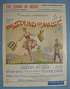 Sheet Music For 1966 The Sound Of Music