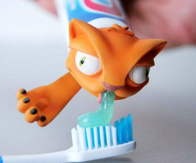 This Oscar cat toothpaste cap. | 27 Ridiculously Cool Gifts You Can Still Buy From Amazon
