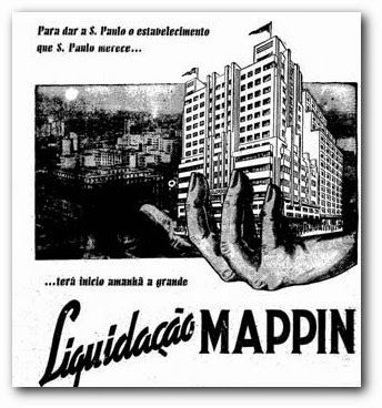 O quarteirão da rua Conselheiro Crispiniano entre a rua Barão de Itapetininga e a rua 7 de Abril nos anos 1950s - era conhecido pela con...