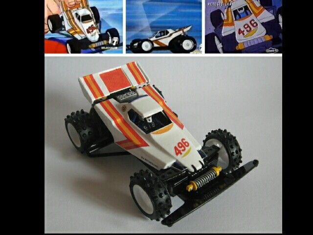 Boomerang Jr. by Aran (anime version) | Mini 4WD | #Mini4WD | #Tamiya