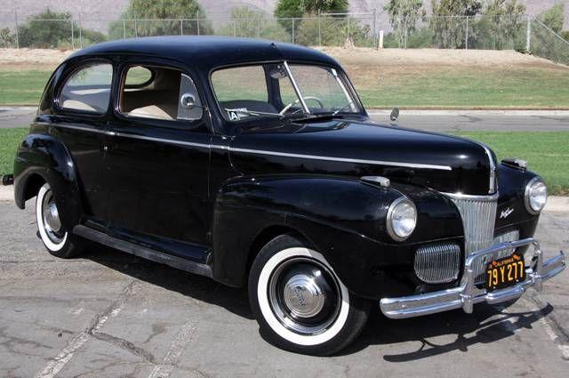1941 Ford Special Deluxe Tudor Sedan