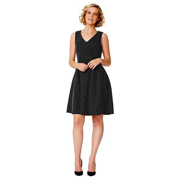 Textured Fit And Flare Dress | Target Australia
