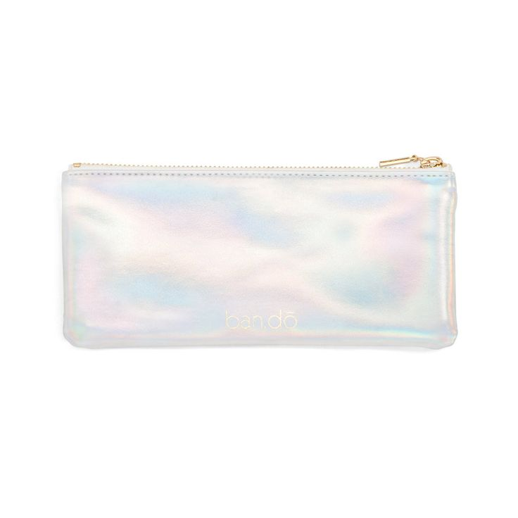 get it together pencil pouch - holographic