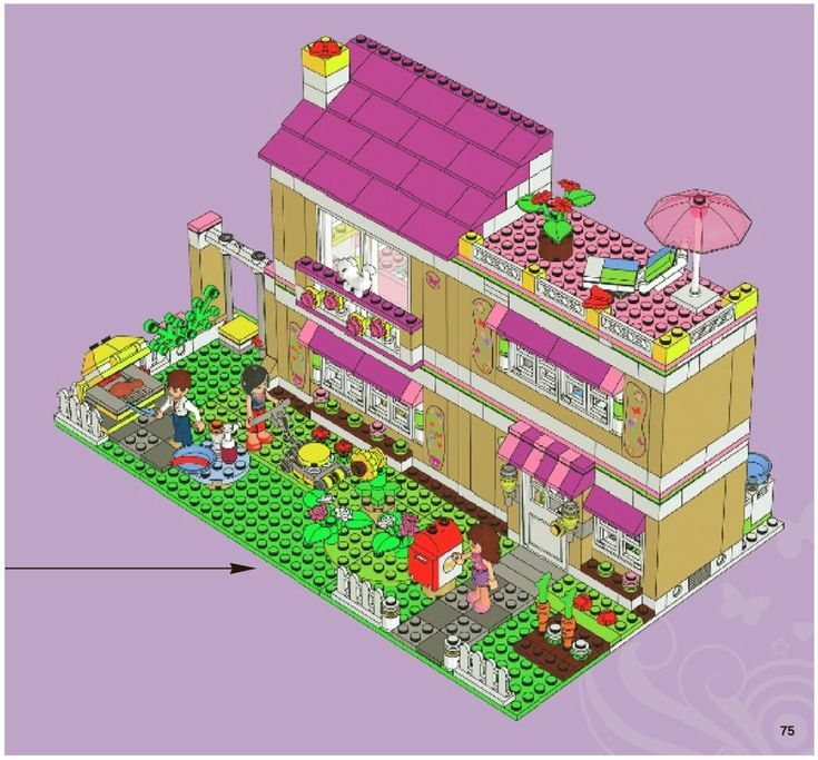Friends - Olivia's House [Lego 3315]