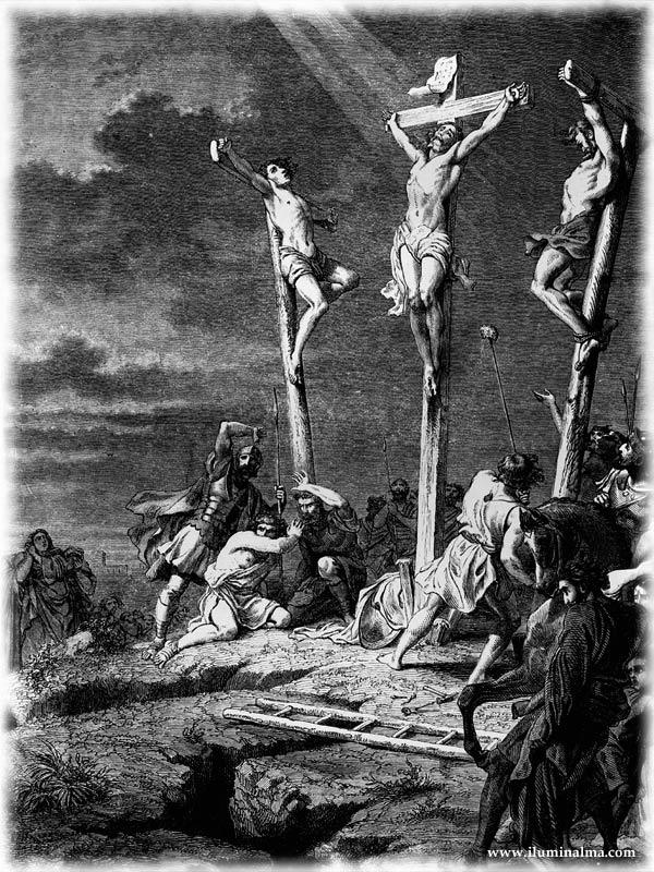 3 cruzes - Um só morreu por nós - JESUS CRISTO