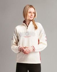 Holmenkollen Feminine Sweater. Modern and traditional look!