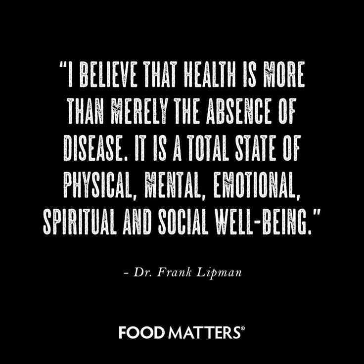 Health looks and feels different to everyone. What does health mean and feel like to you?  www.foodmatters.com #foodmatters #fmquotes