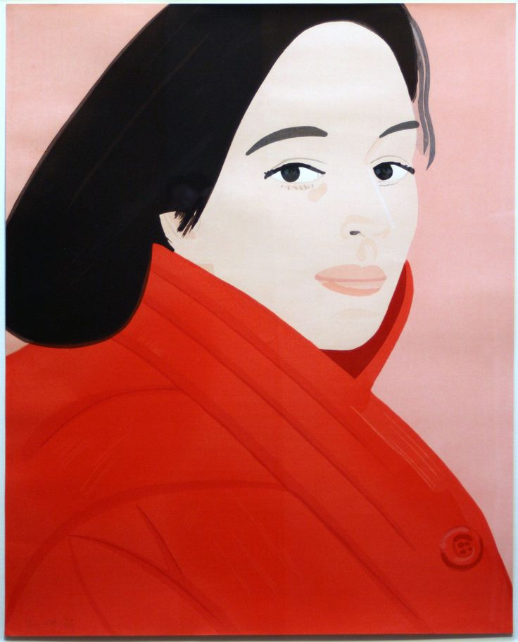 alex katz art east coast figurative painting alex