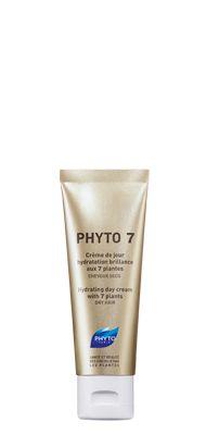 PHYTO 7 - Feuchtigkeitsspendende Haartagescreme mit 7 Pflanzen -TROCKENES HAAR