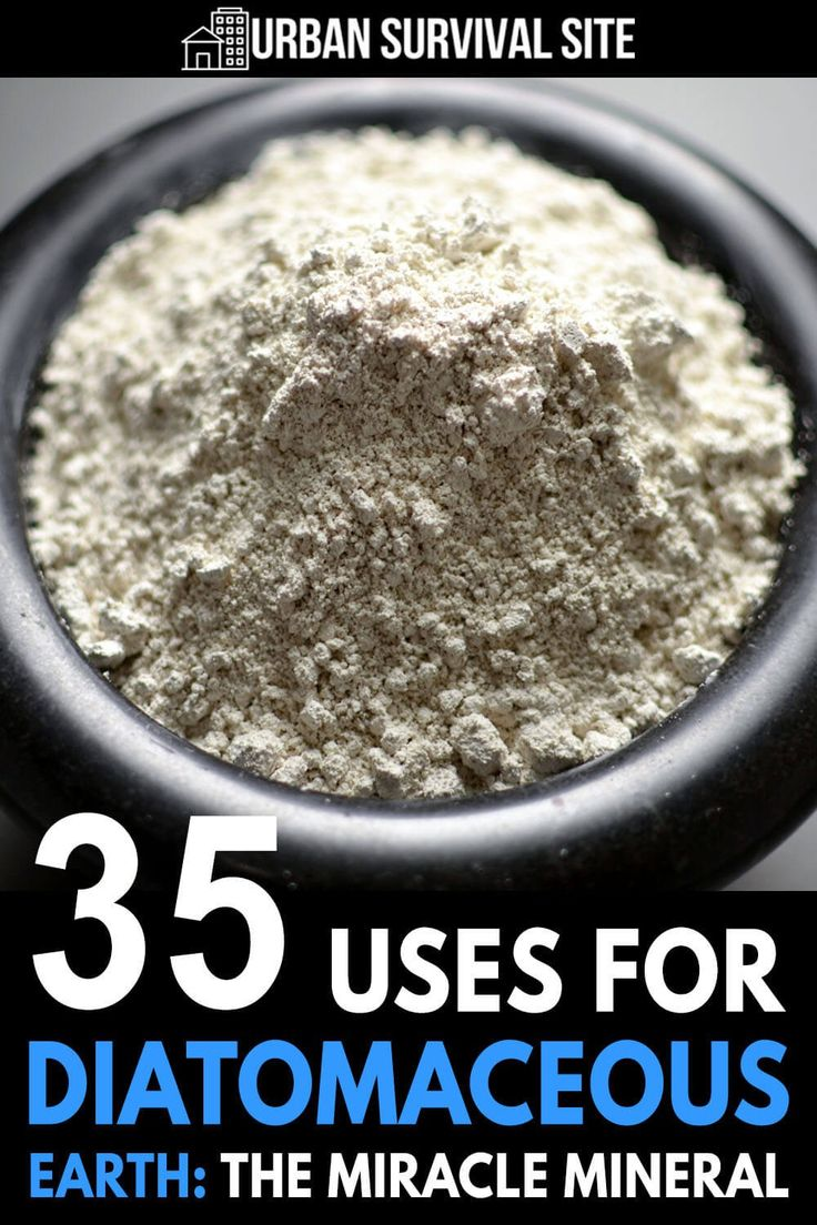 35 Uses for Diatomaceous Earth The Miracle Mineral in