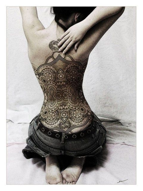 52 Fotos de tatuagens nas costas