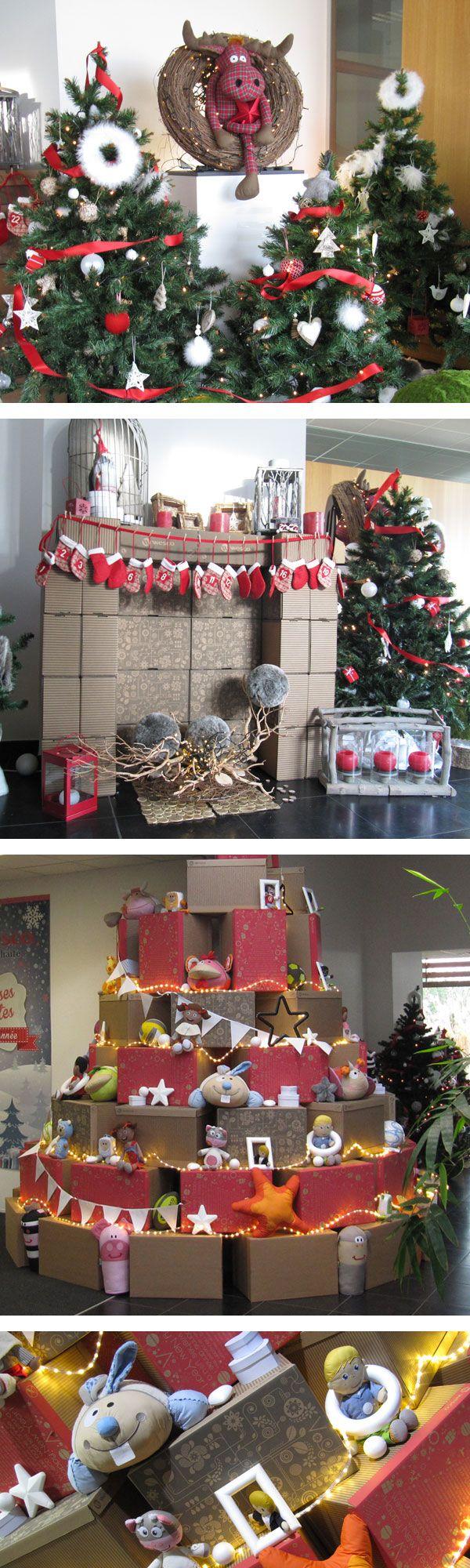 Emballages cadeaux, sapins et doudous pour la décoration de Noël #wescofamilyinside