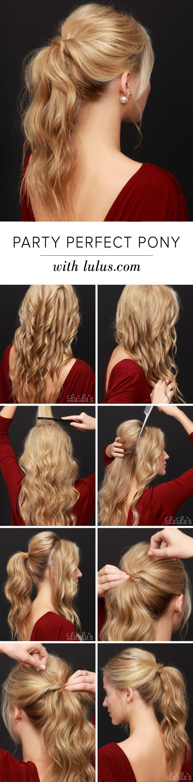 196 best Easy hairstyles images on Pinterest