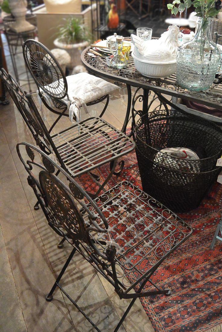 удобные складные садовые стулья