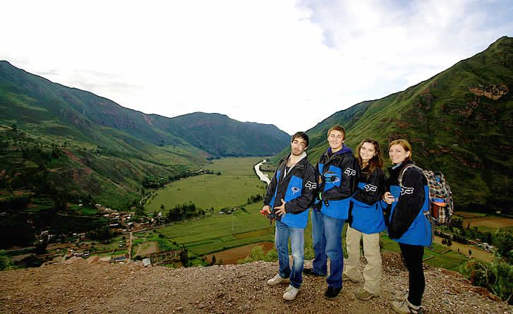 AMAUTA students in the Sacred Valley of the Incas, in #Peru