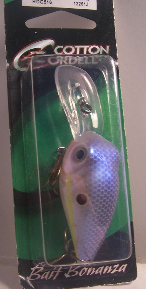 Cotton Cordell Deep Diving Crankbait  Pearl shad   color  #CottonCordell