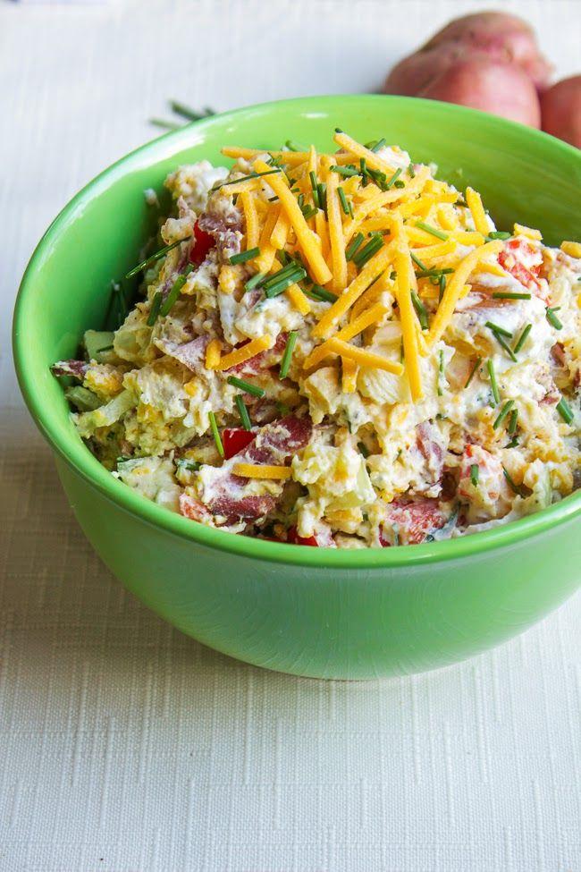 InVkus: Картофельный салат с беконом