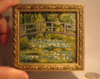 lo stagno delle ninfee di C. Monet in scala 1:12
