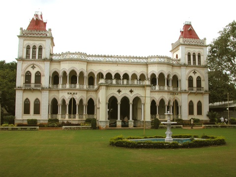 King Kothi Palace is a royal palace located in Hyderabad, India. It was the palace where the erstwhile ruler, the Seventh Nizam, Osman Ali Khan, Asaf Jah VII, of Hyderabad state lived here.