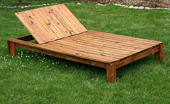 Outdoor Double Chaise Lounge Plans Woodworking Projects