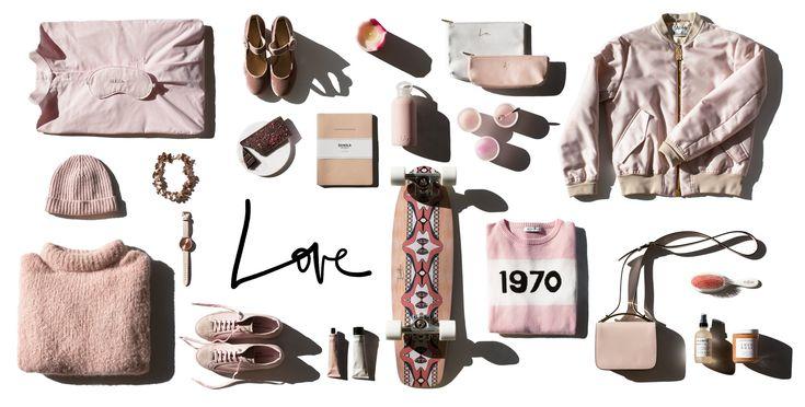 love christmas gift guide board pink garance dore still life photo