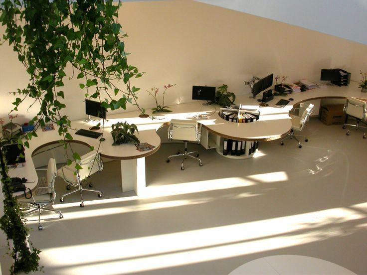 Gietvloeren zijn zeer geschikt voor bedrijfspanden #duurzaam #kantoor #gietvloer www.coatingvloer.nl - Coating Vloer