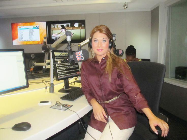 Talk 702 radio interview