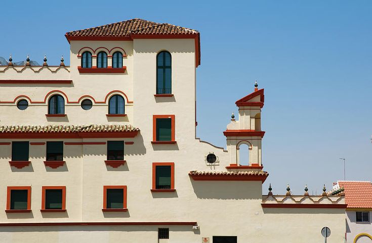 Details Of Traditional Building In Malaga by Jenny Rainbow