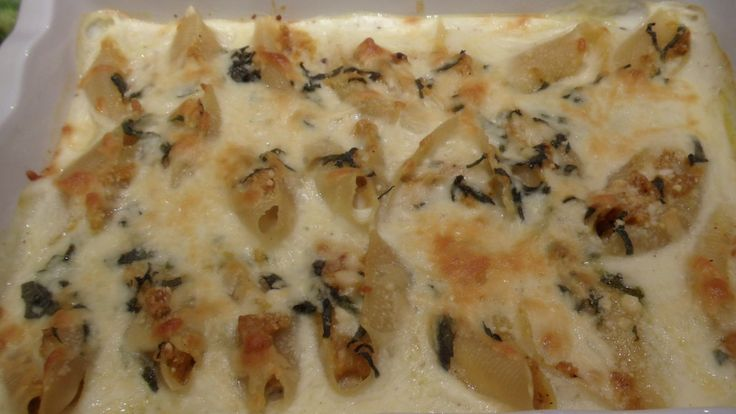 Delicata Squash Pasta Shells With Brown Butter Bechamel Recipe ...