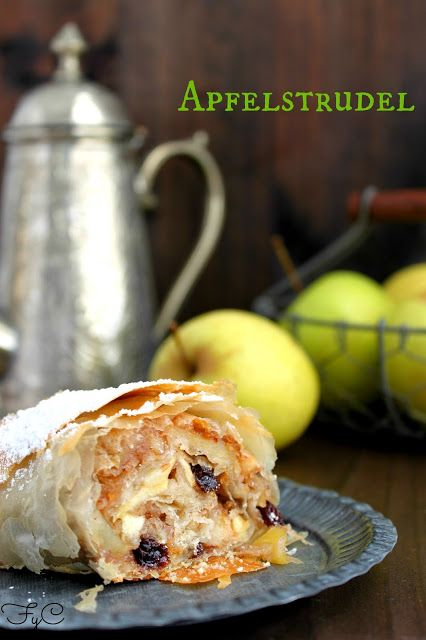 Frambuesa y Caramelo: Apfelstrudel o strudel de manzana